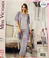 Женская пижама хлопок Miss Victoria Турция размер L-XL(46-48) 61048