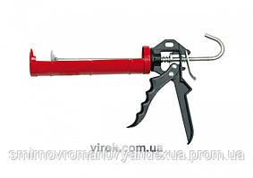 Пистолет для герметика закрытый VOREL ПРОФІ 230 мм