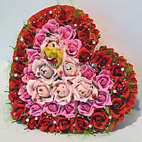 """Сердце из конфет для влюбленных """"Для тебя"""""""