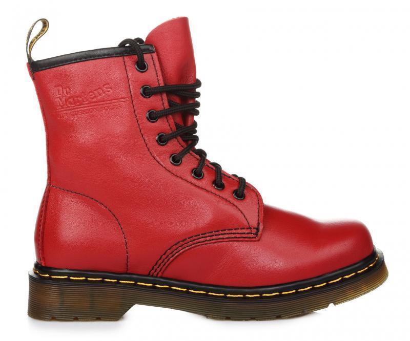 """Оригинальные женские ботинки DR. MARTENS 1460 CHERRY RED SMOOTH """"VEGAN"""" 0"""