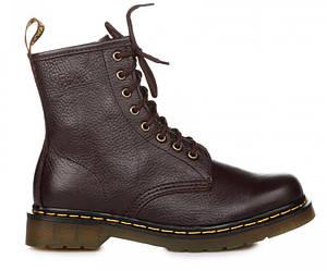 """Оригинальные женские ботинки DR. MARTENS 1460 BROWN SMOOTH """"VEGAN"""""""