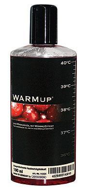 Съедобное массажное масло для оральных ласк WARMup Вишня, 150 мл