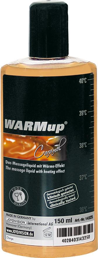 Съедобное массажное масло для оральных ласк WARMUP CARAMEL, 150 мл