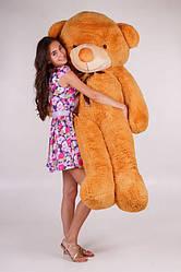 Большой плюшевый медведь Нестор  светло-коричневый (200 см)