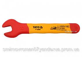 Ключ рожковый диэлектрический YATO М6 мм VDE до 1000 В