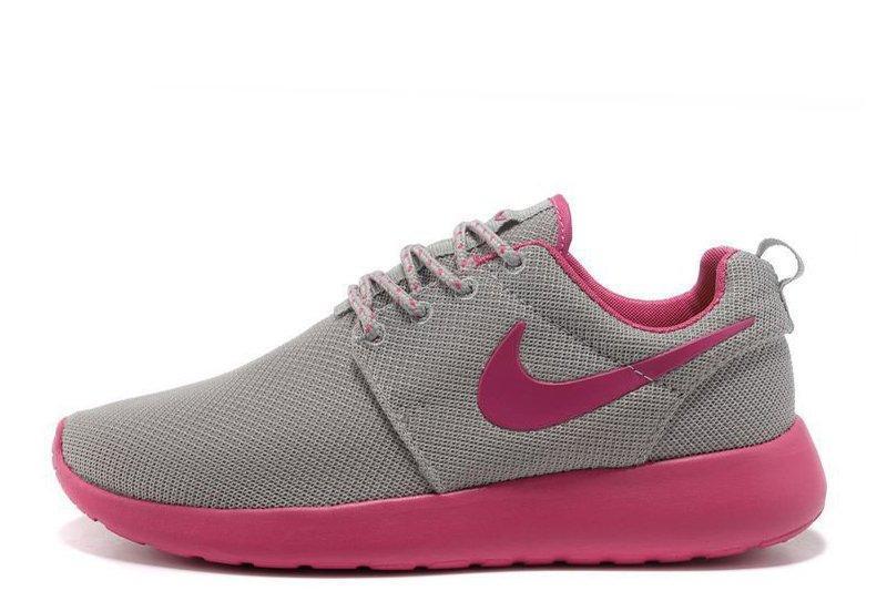 ea20066d Кроссовки женские Nike Roshe Run II Grey Pink найк роше ран II серые  оригинал