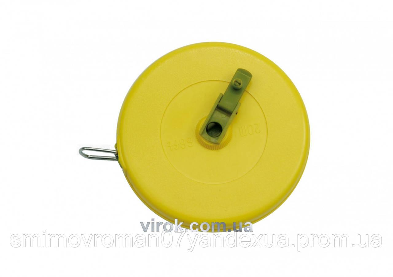Рулетка стекловолоконная VOREL 10 м х 13 мм