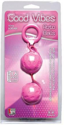 """Вагинальные шарики Dreamtoys """"Roto Balls"""", 4 см, фото 2"""