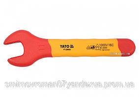 Ключ рожковый диэлектрический YATO М11 мм VDE до 1000 В