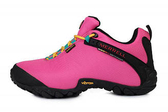 Женские кроссовки Merrell Continuum Goretex Pink Black