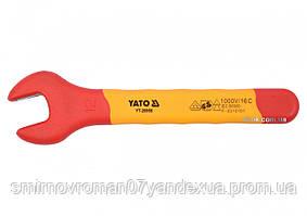 Ключ рожковый диэлектрический YATO М12 мм VDE до 1000 В