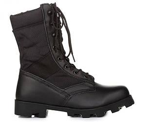 Мужские армейские ботинки VELCO US ARMY Jungle Condura Tropical Combat 9 inch Black - берцы, черные