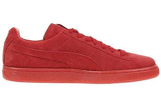 Оригинальные кроссовки женские Puma Suede Classic Mono Iced Red Пума суид классик моно ред