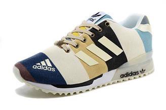Оригинальные кроссовки женские Adidas ZX Flux 2.0 Glow Line Color