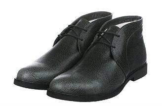Мужские ботинки Celio Guzzi Desert Boots Winter Leather Khaki Grey - хаки, черные