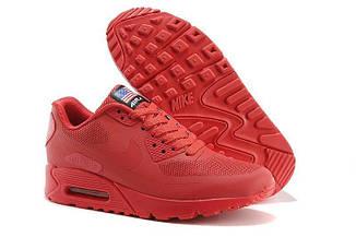 Кроссовки женские Nike Air Max 90 Hyperfuse Red найк аир макс 90
