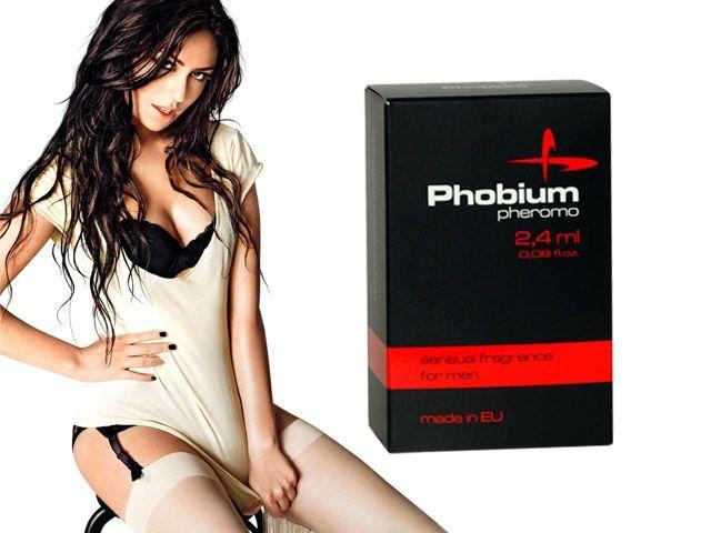Духи с феромонами мужские PHOBIUM Pheromo for men, 2,4 мл