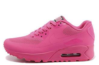 Кроссовки женские Nike Air Max 90 Hyperfuse Pink найк аир макс 90