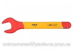 Ключ рожковый диэлектрический YATO М30 мм VDE до 1000 В