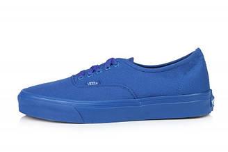 Оригинальные мужские кеды Vans Chukka Low Mono Blue вэнс чукка лоу моно синие
