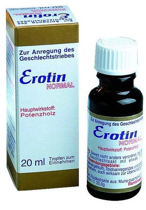 Капли Erotin Normal для двоих, 20 мл , фото 2