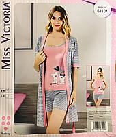 Женская пижама хлопок Miss Victoria Турция размер L-XL(46-48) 61107