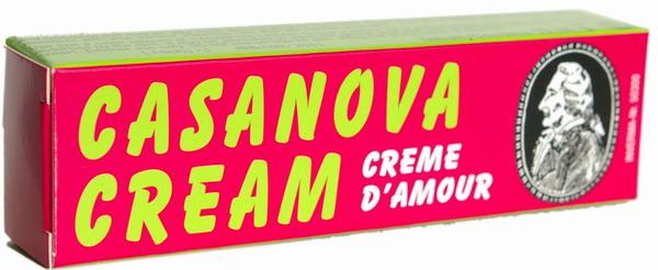 """Возбуждающий крем для мужчин """"Casanova D'amour"""", 13 мл"""