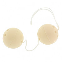 Вагинальные шарики Plastic Balls Flesh, 3,5 см