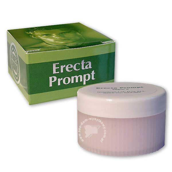 Возбуждающий крем Erecta Prompt для мужчин, 50 грамм