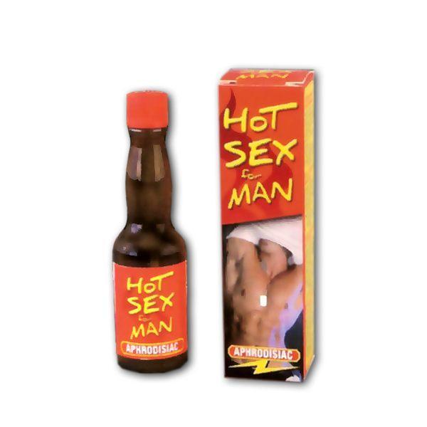 "Збуджуючі краплі Ruf ""HOT SEX"" for MAN, 20 мл"
