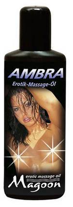 Массажное масло Ambra Massage — амбра, 100 мл , фото 2