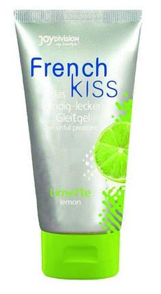 Оральный лубрикант French Kiss «Lemon», 75 мл , фото 2