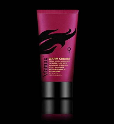 """Возбуждающий крем для женщин Viamax """"Warm cream"""", 50 мл , фото 2"""
