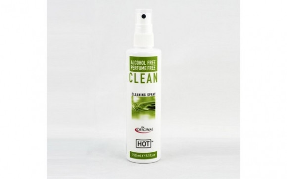 Очищающий спрей для секс игрушек HOT Clean, 150 мл