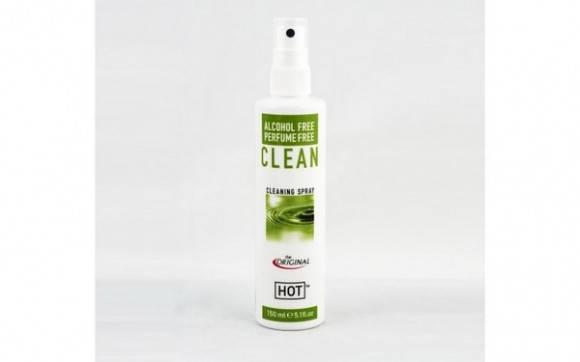 Очищающий спрей для секс игрушек HOT Clean, 150 мл , фото 2