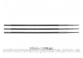 Набор напильников для заточки цепей пилы VOREL 4 х 200 мм 3 шт