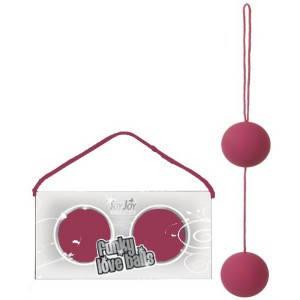 Вагинальные шарики FUNKY LOVE BALLS, 3,5 см , фото 2