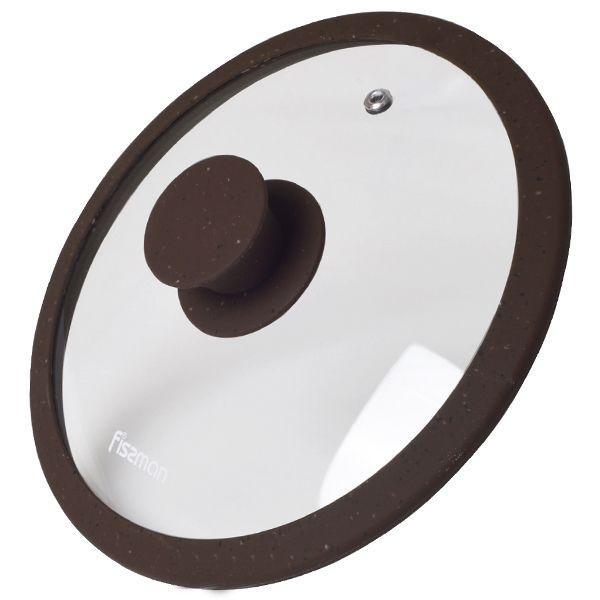 Крышка Fissman Arcades 20 см Темно-коричневая (9967)