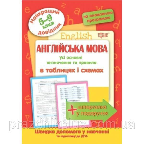 Английский язык в таблицах и схемах 5-9 классы Лучший справочник