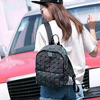 Стильный рюкзак Bao Bao геометрический голографический
