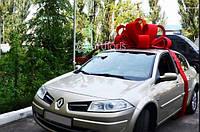 Украшение машины бантом, красивый и большой бант на машину от Артфлорис