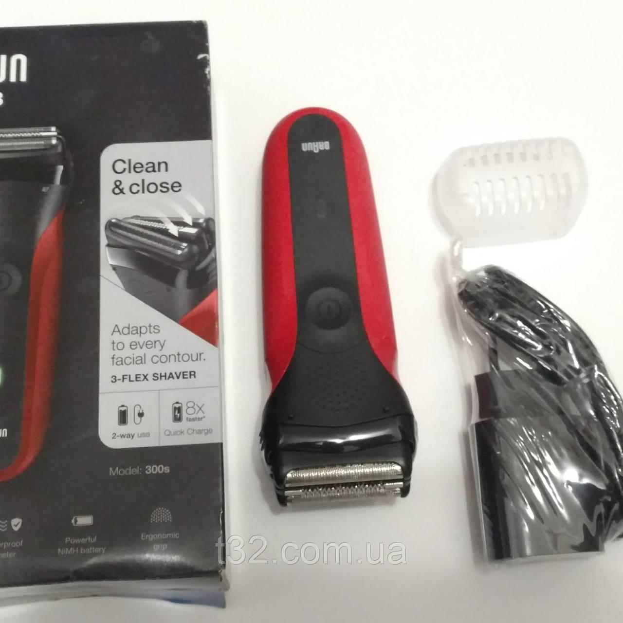 Акция! Электробритва BRAUN Series 3 300s Red