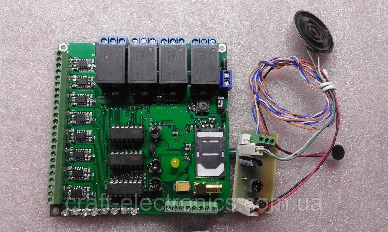 """Система диспетчеризації ліфтів """"Disel GSM-18"""" на 8 абонентів без корпусу"""