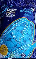 """Воздушные шары GEMAR G90 10""""/26 см пастель (голубой)"""