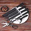 Набор кухонных ножей Knife 6 in 1, фото 9