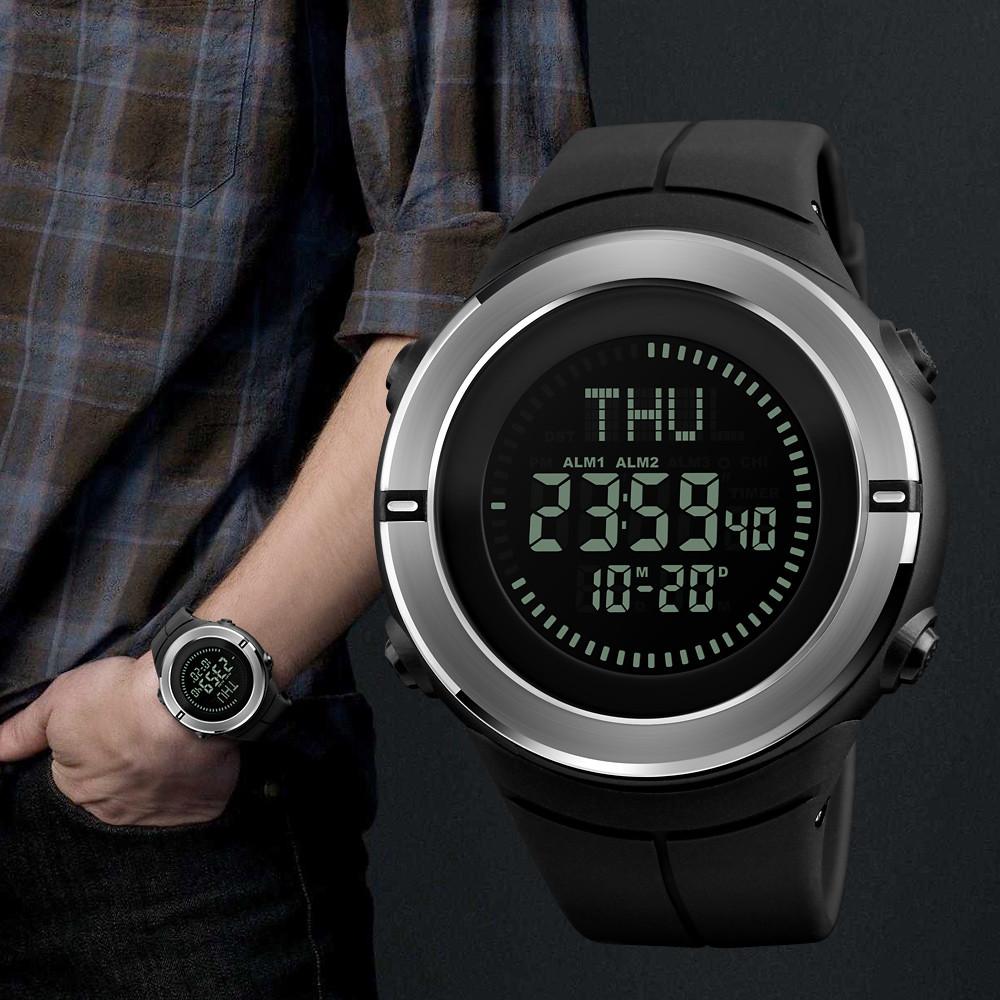 Skmei 1294 compass мужские спортивные часы с компасом