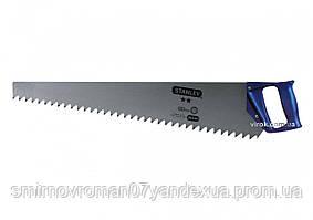 Ножовка по пенобетону STANLEY с закаленными зубами 650 мм 1.2 TPI