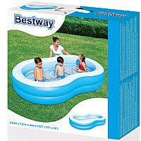 Bestway 54117 Надувной бассейн Большая лагуна (262 х 157 х 46 см)