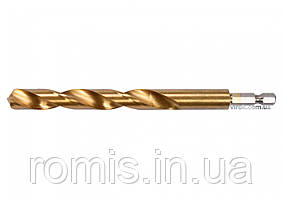 "Сверло по металлу с шестигранным хвостовиком 1/4"" YATO HSS-TiN 12 х 151 мм"