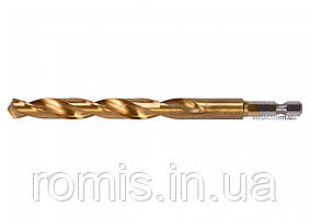 "Сверло по металлу с шестигранным хвостовиком 1/4"" YATO HSS-TiN 10 х 133 мм"